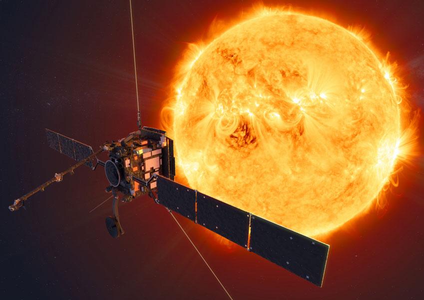 太陽の南極と北極を初めて観測 ソーラー・オービター打ち上げ間近