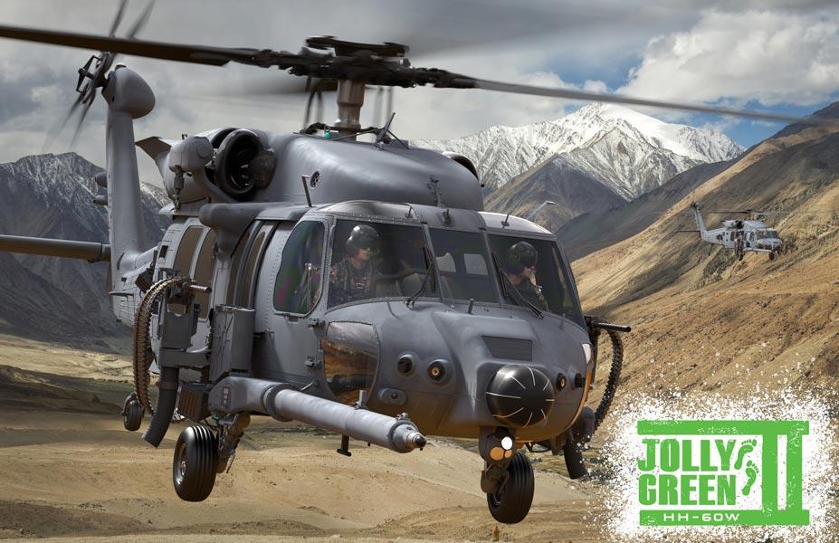 アメリカ空軍 新型救難ヘリコプターHH-60Wを「ジョリーグリーンII」と命名