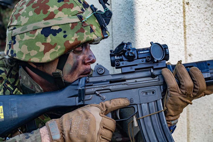 陸上自衛隊水陸機動団とアメリカ海兵隊の共同訓練「アイアンフィスト2020」