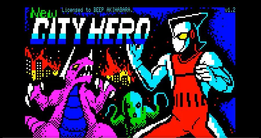PasocomMini PC-8001用新作ゲーム「Newシティヒーロー」が突如発売!開発総指揮者に突撃インタビュー