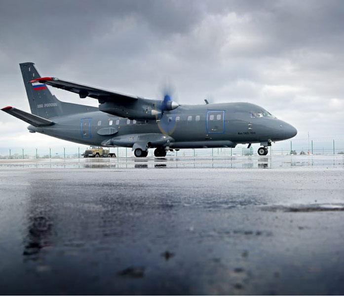 ロシアの航空測量機An-140-100改修 高精度な測量が可能に