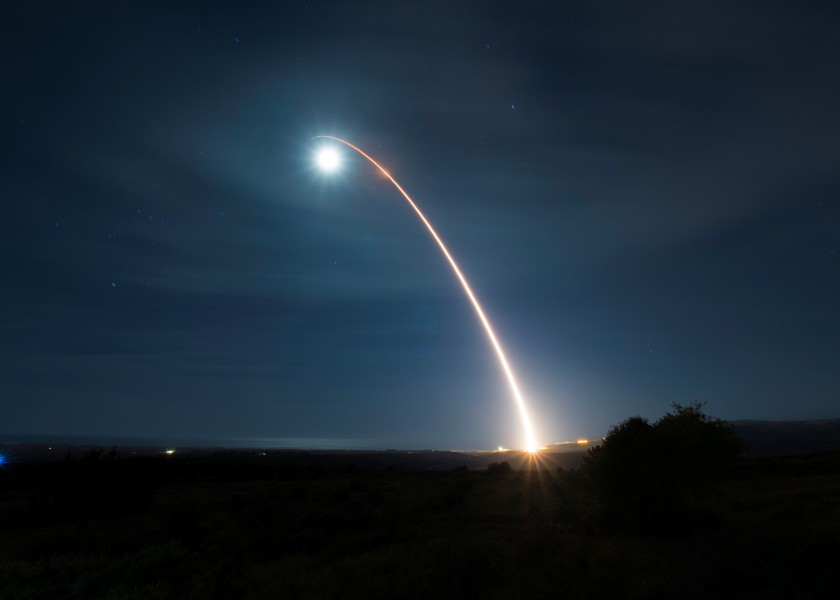 アメリカ 2020年最初のICBM発射試験を実施