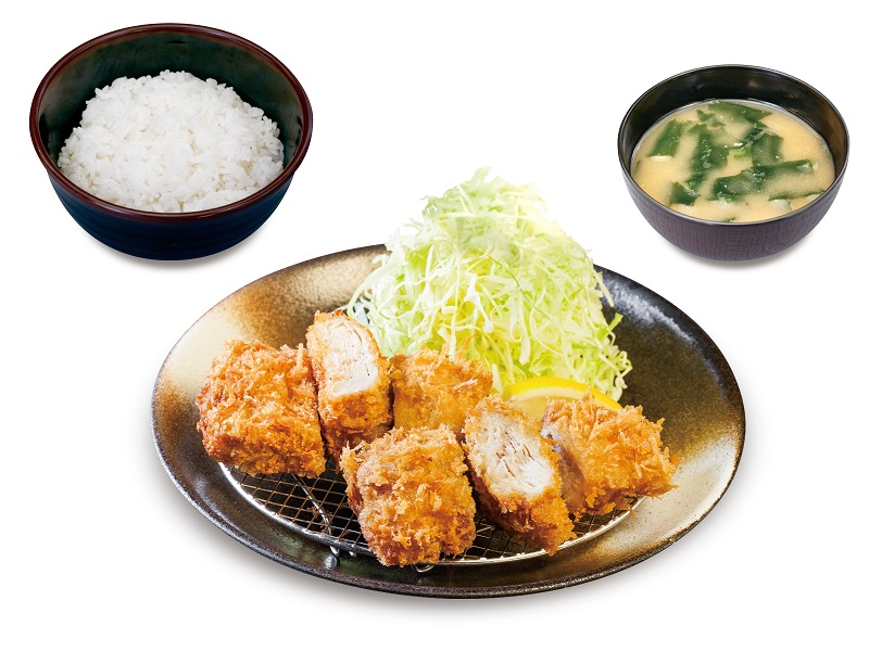 「松のや」と「松乃家」でミルフィーユかつ定食が復活発売!対象商品を注文した人には「ライス大盛無料」も