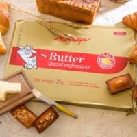 日本本格初上陸の高級発酵バター「モンテギュバター」を使用!メ…