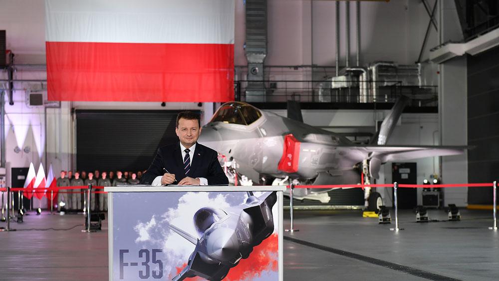 ポーランドF-35を導入 32機と関連装備を総額5000億円で一括発注