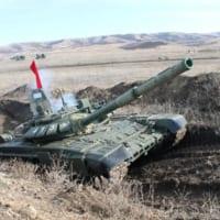 ロシアで「戦車バイアスロン世界選手権」代表選考会が進行中