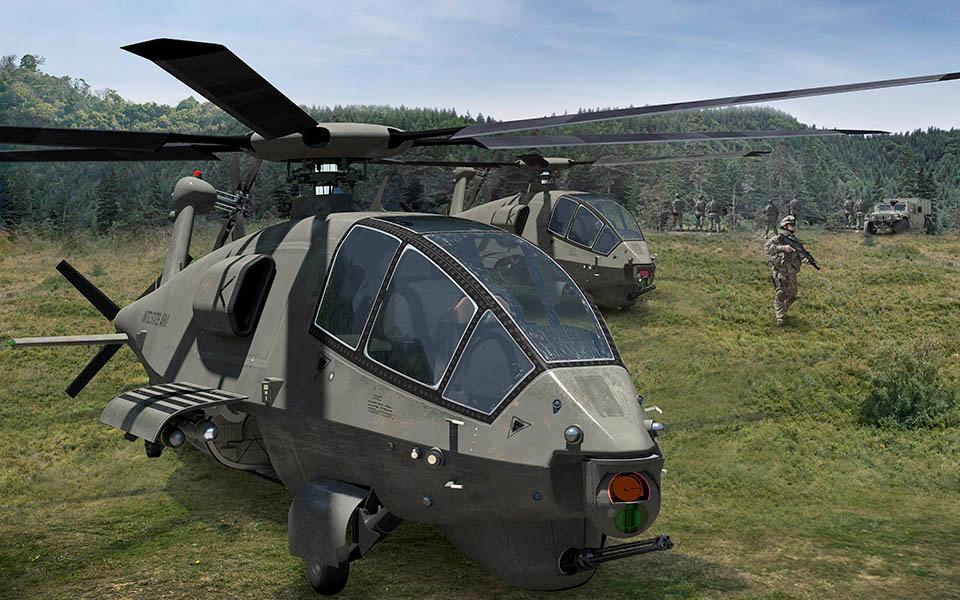 ボーイング アメリカ陸軍次期軽攻撃偵察ヘリコプター試作機のデザイン公開