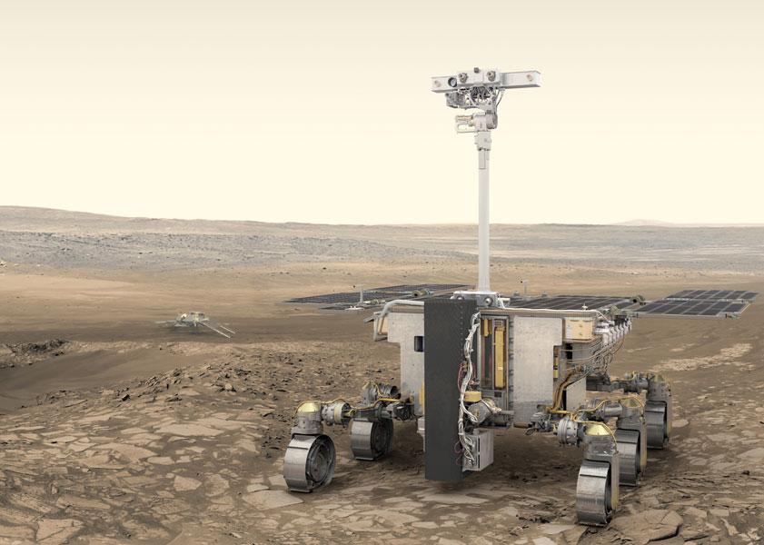 火星探査機ExoMarsローバー打ち上げ延期 新型コロナウイルスの影響