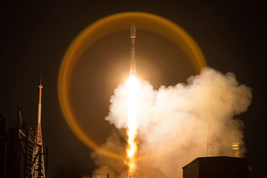 インターネット中継衛星OneWeb第3陣34機の打ち上げ成功