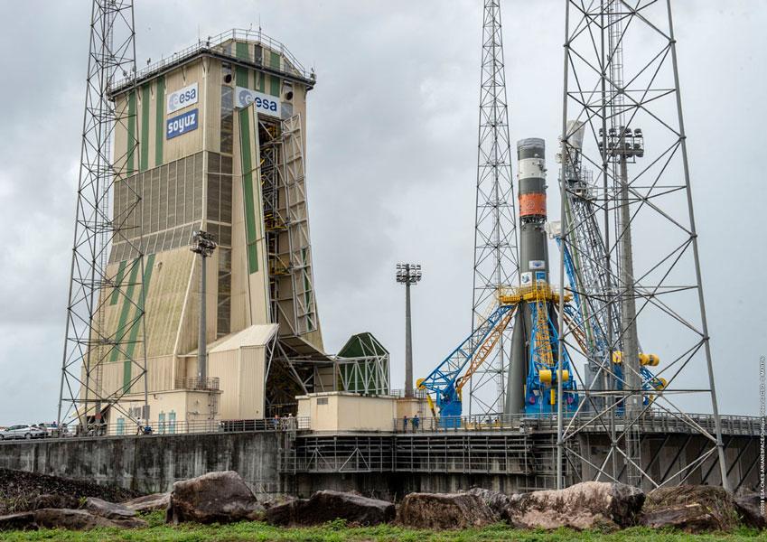 新型コロナウイルスによりギアナ宇宙センターのロケット打ち上げ業務中断