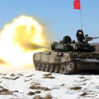 戦車バイアスロン世界選手権 沿海地方とブリヤート地区の予選会