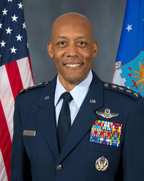 アメリカ空軍次期参謀総長に初の黒人指名 現在の太平洋空軍司令官