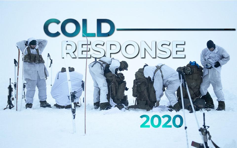 多国間訓練「コールド・レスポンス2020」新型コロナウイルスで継続断念