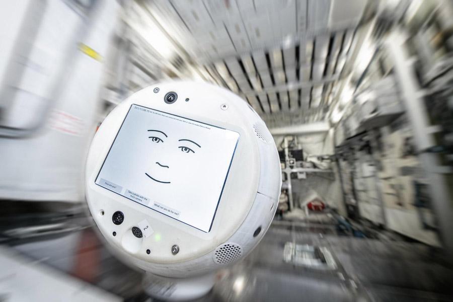 ドイツ版ハロ「サイモン」2代目が国際宇宙ステーションで活躍中