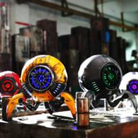 近未来的デザインのスピーカー「Gravastar」 日本上陸…