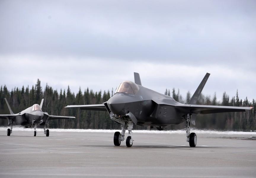 アメリカ太平洋空軍初のF-35A部隊アラスカに誕生