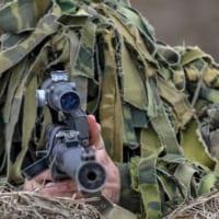 ロシア軍のスナイパー競技大会 西部軍管区予選開催