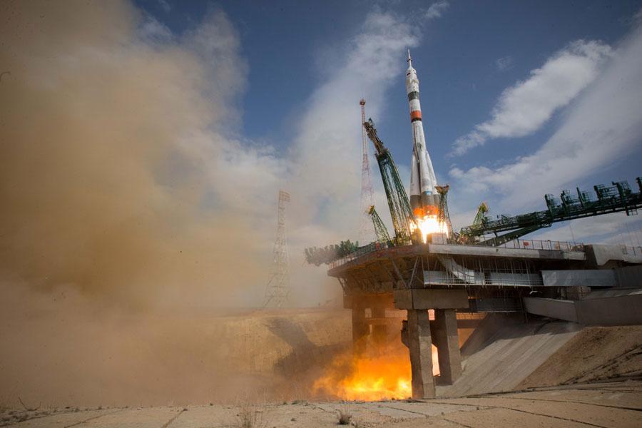 ソユーズMS-16打ち上げ 6時間後無事に国際宇宙ステーションへ到着