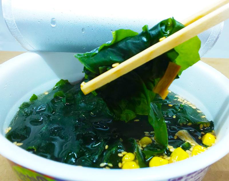 わかめラーメンの麺抜き「わかめラー」実食レポ 低カロリーだけど満足感あり
