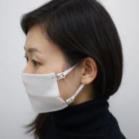 布をパチっと留めるだけ マスク用ストラップ「なんでもマスク」…