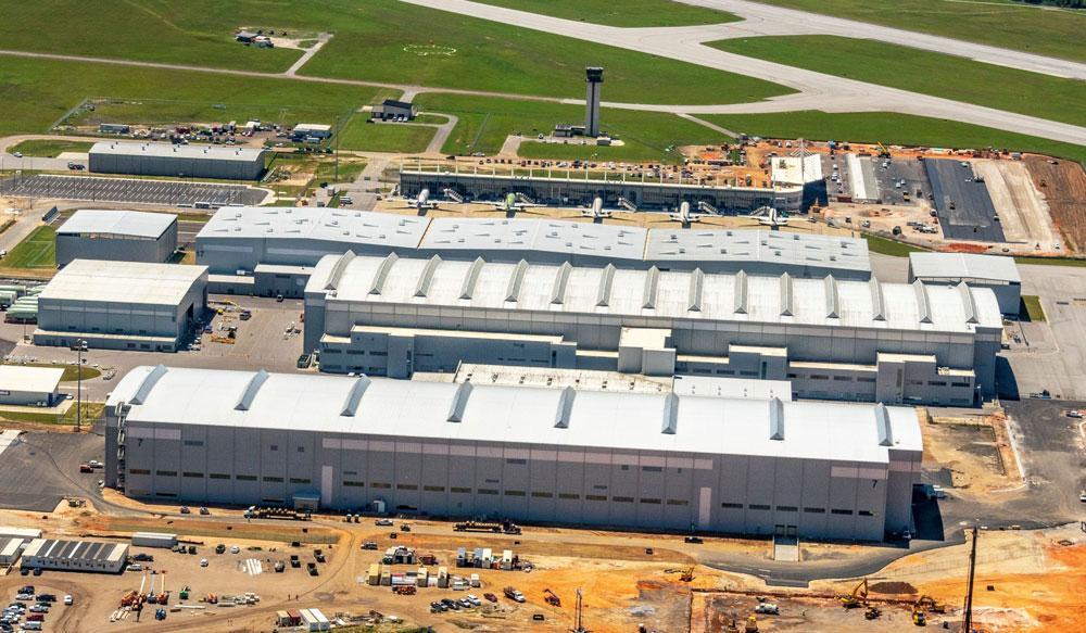 エアバスA220ファミリー増産用大規模工場がアメリカに完成