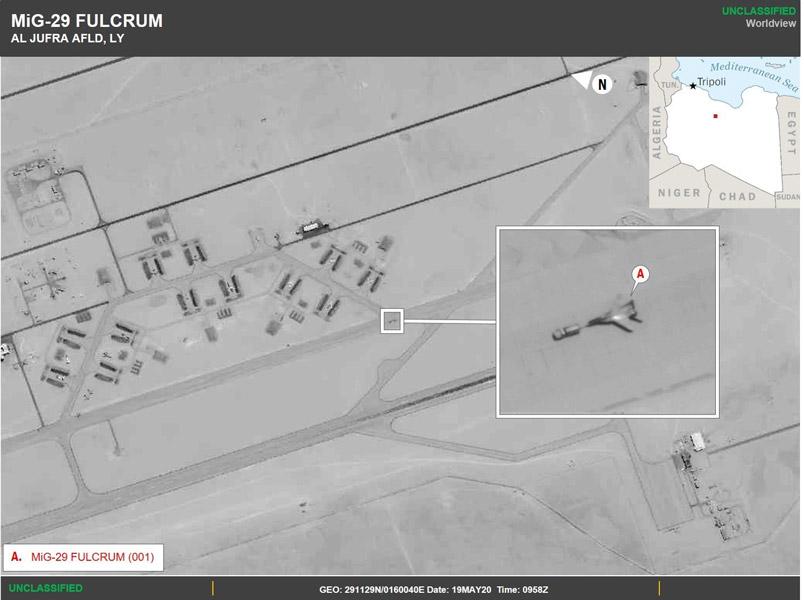 ロシアがリビアに戦闘機派遣 ロシア政府出資の民間軍事会社を支援か