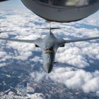 23時間飛びっぱなし!アメリカ空軍B-1Bが3週連続でヨー…