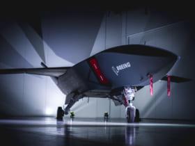ロイヤル・ウィングマン(Loyal Wingman)試作1号機(Image:Boeing)