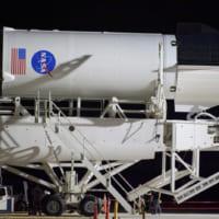 スペースXの有人宇宙船クルードラゴン 27日の打ち上げに向…