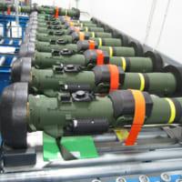 最新対戦車ミサイル「ジャベリンF」第1期納入分の…