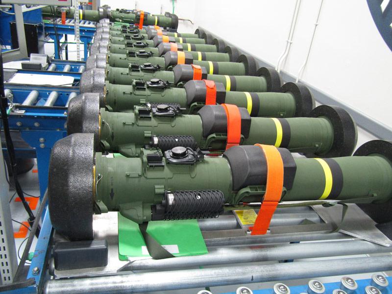 最新対戦車ミサイル「ジャベリンF」第1期納入分の生産完了