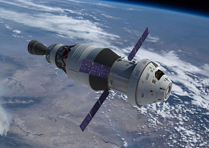 月面着陸を目指すNASAのオリオン宇宙船3号機 機械船をエアバスが受注