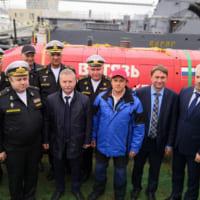 ロシアの完全自律型潜水ロボット 初めてマリアナ海溝最深部へ到達