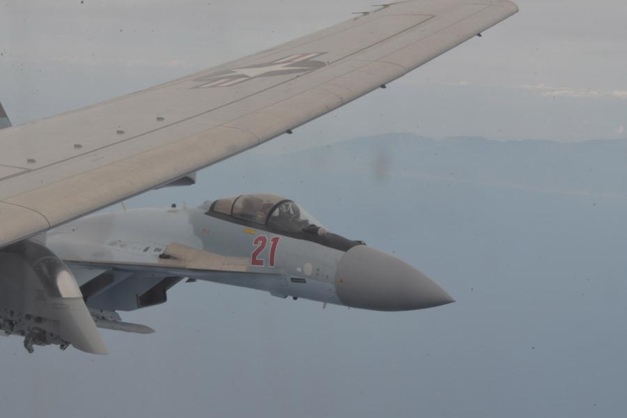 ロシア軍戦闘機地中海でアメリカ軍機に異常接近 アメリカ側が抗議