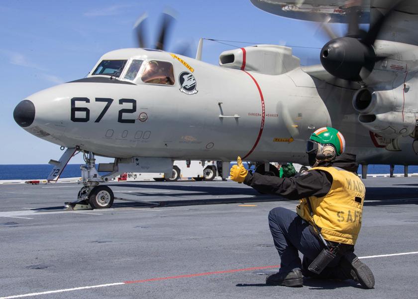 空母フォード 実戦訓練部隊を迎えての第2期運用試験スタート