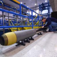 ノースロップ・グラマン アメリカ海軍向け超軽量魚雷を開発