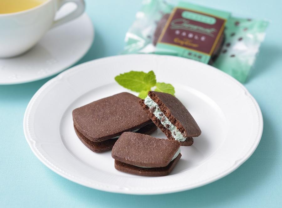 チョコミン党歓喜な「チョコミントサブレ」銀座コージーコーナーより登場