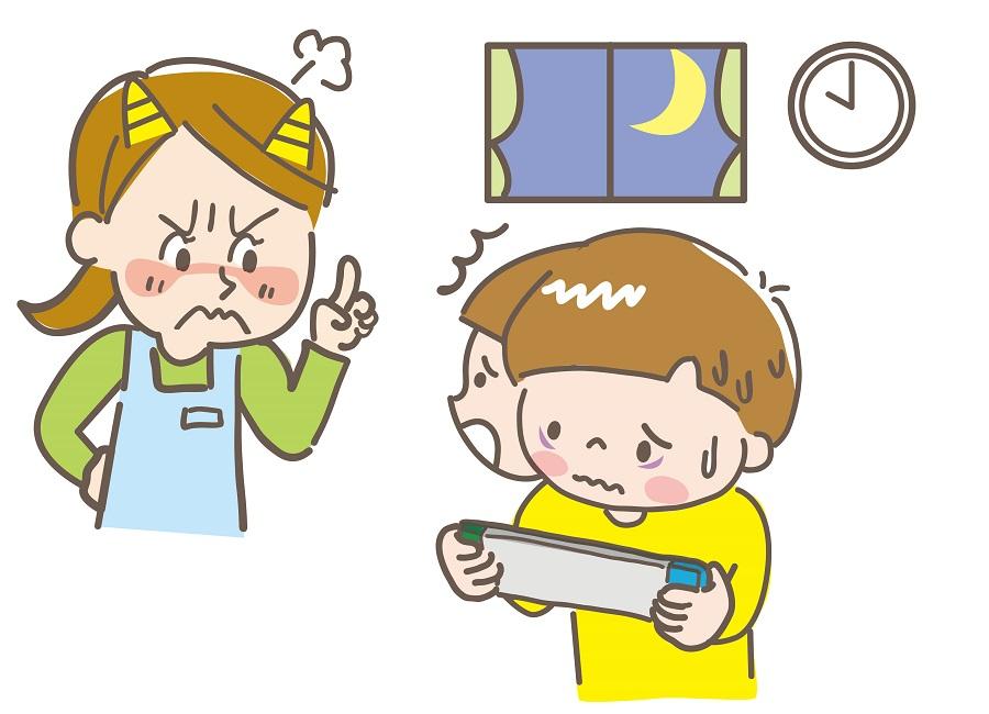 昼夜逆転キッズvs頭を抱える親 保護者ができる情報機器の管理方法