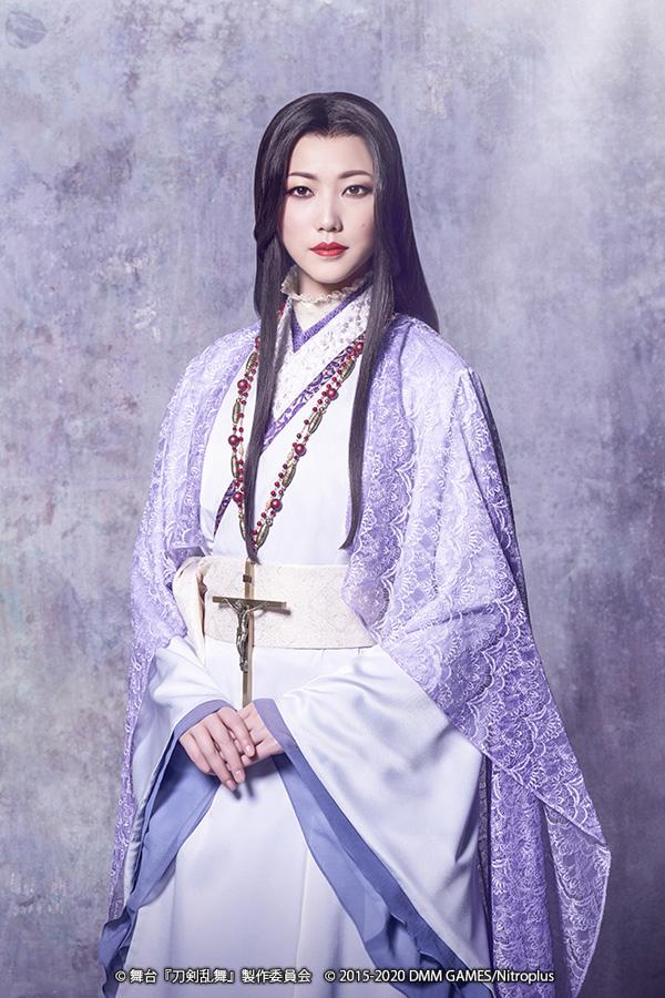 元宝塚・七海ひろきが『刀剣乱舞』夏公演に出演 細川ガラシャで退団後初の女性役に挑戦