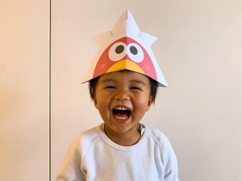 おうちで「こどもの日」を楽しもう 森永製菓が「キョロちゃんかぶと」を公開
