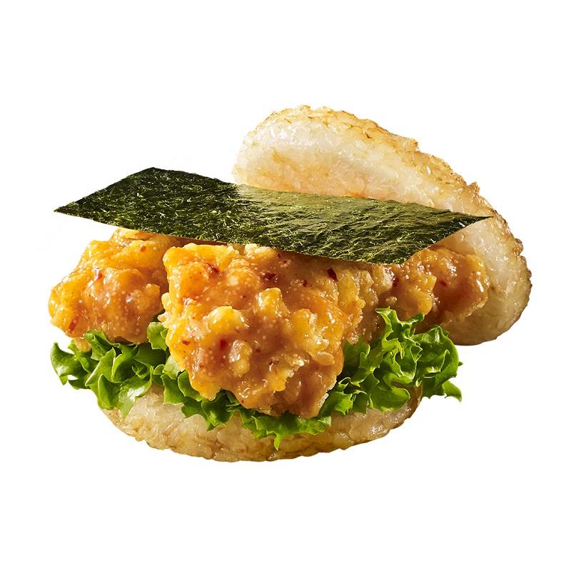 海老の天ぷらとめんたい味がまさかのコラボ モスライスバーガーに期間限定商品が登場