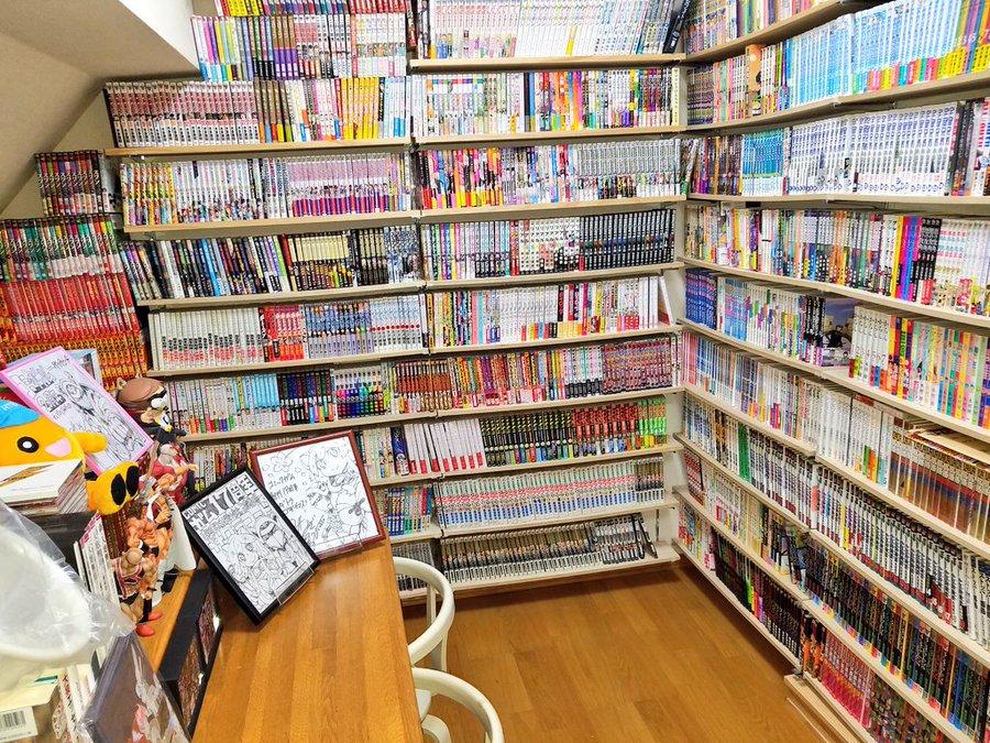 息子の趣味が母を救う 約7000冊あつめた漫画部屋が外出自粛で大活躍