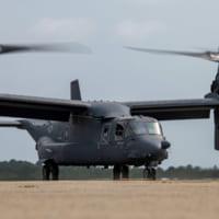 陸上自衛隊も採用するティルトローター機V-22オスプレイ生…