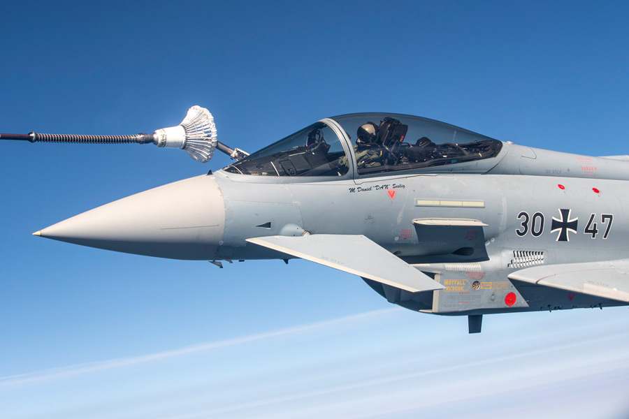 イギリス・ドイツなどの戦闘機共同訓練「MAGDay」ドイツ北部で実施