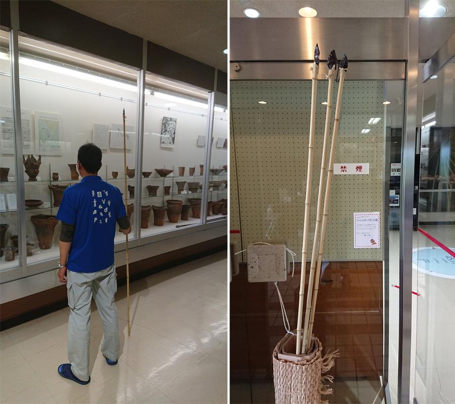 2mの間隔を再認識 長野の博物館が考えた「ソーシャルディスタンスの槍」がおもしろい
