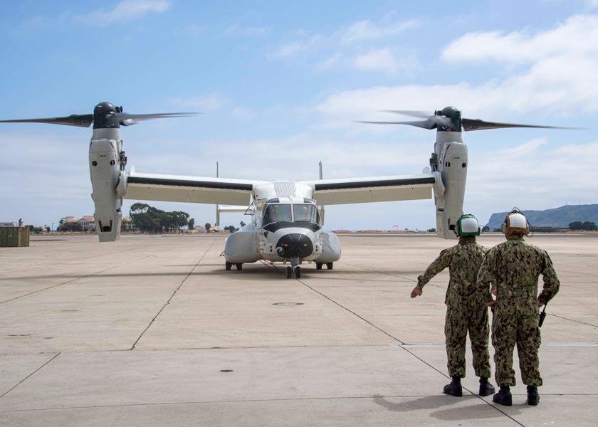 アメリカ海軍 実働部隊にオスプレイを初配備