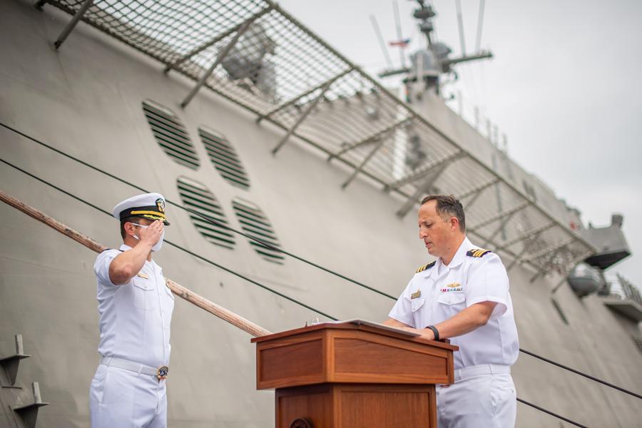 アメリカ太平洋艦隊に新たな沿海域戦闘艦カンザスシティ就役