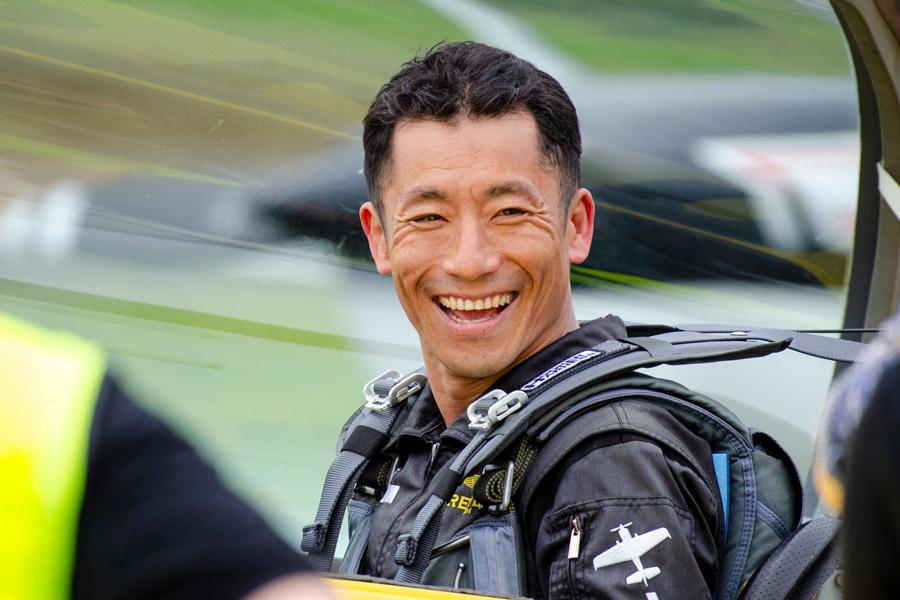 室屋義秀 福島県内で応援フライト「Fly for ALL #大空を見上げよう」を実施