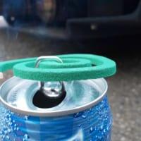 野外での蚊取り線香は空き缶が便利 とある整備士紹…
