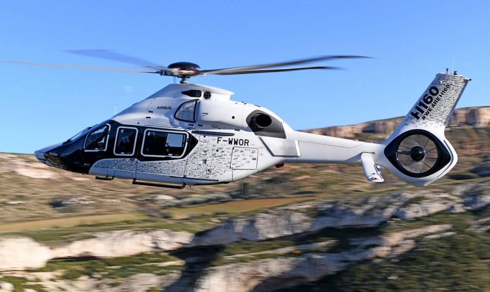 エアバス新型ヘリコプターH160 ヨーロッパの型式証明取得